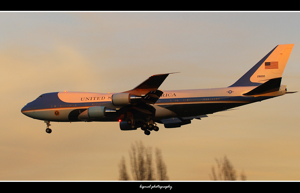 United States Air Force - Boeing VC-25A 92-9000 aka Air Force One